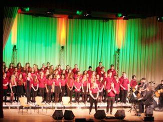 Gospeltrain, ein Chor, der eine spezielle Umlaufbahn sein eigen nennen darf!Fotos: pm