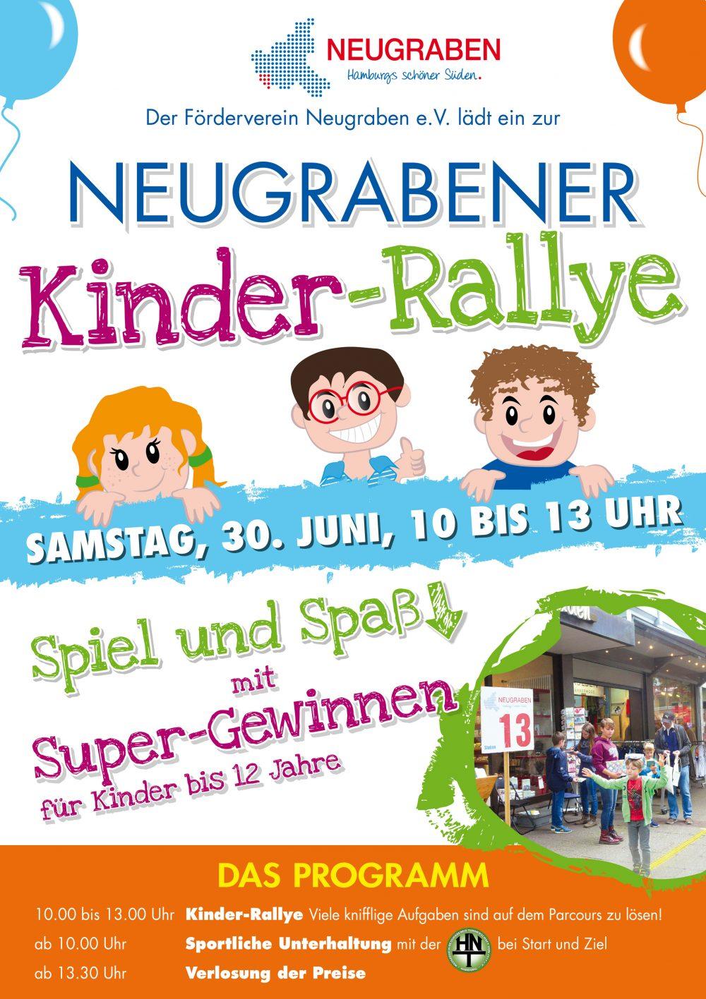 Termin merken für Kinder-Rallye