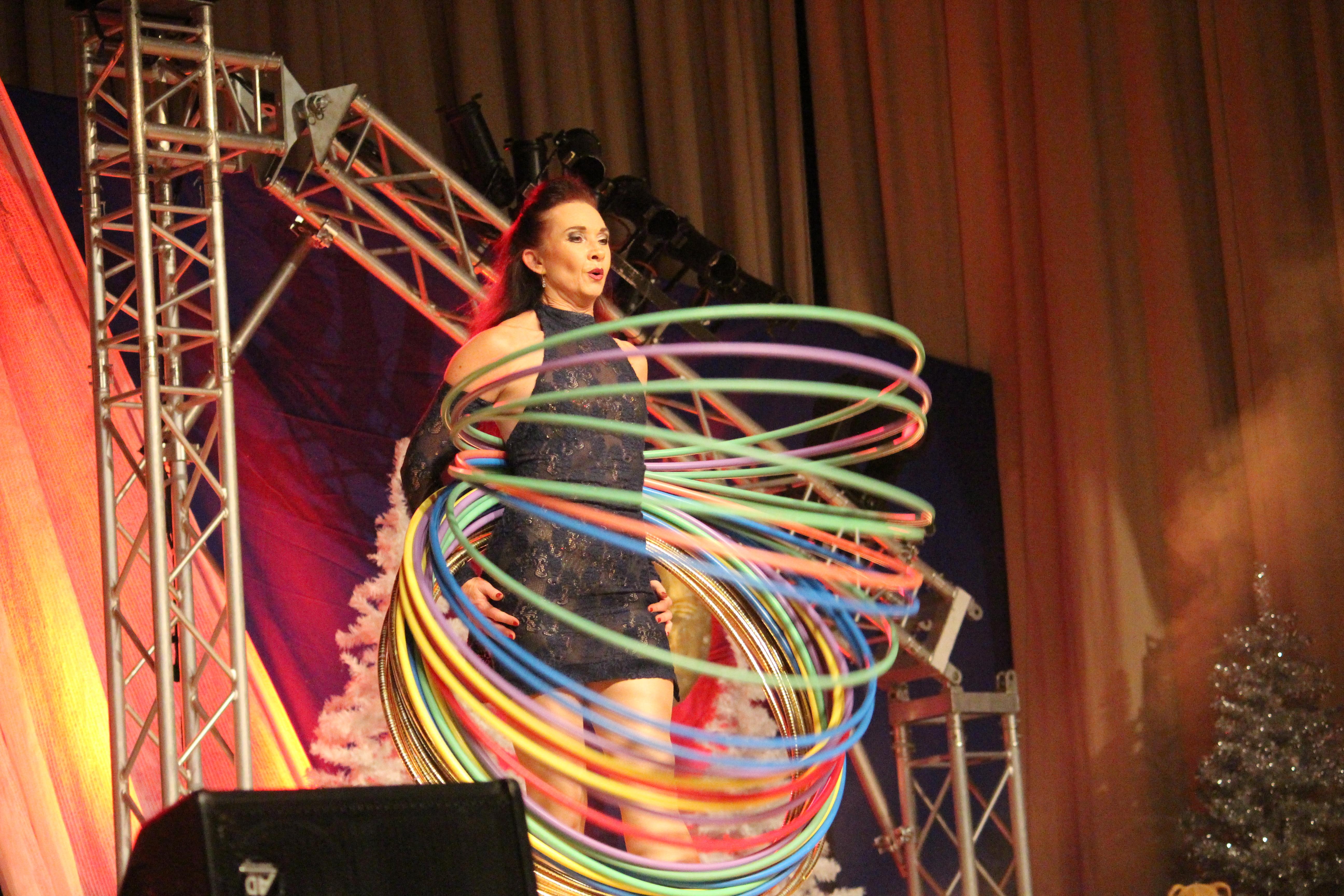 pm -Terisa: Ließ die Hüften schwingen und hielt die Circles in Motion