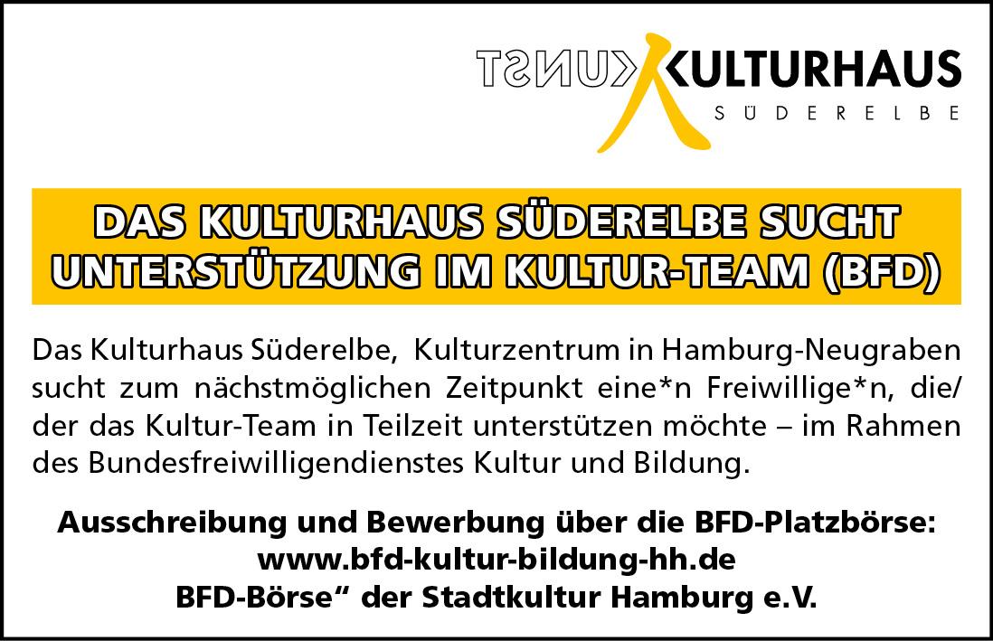 Kulturhaus Süderelbe_Stellenanzeige w2