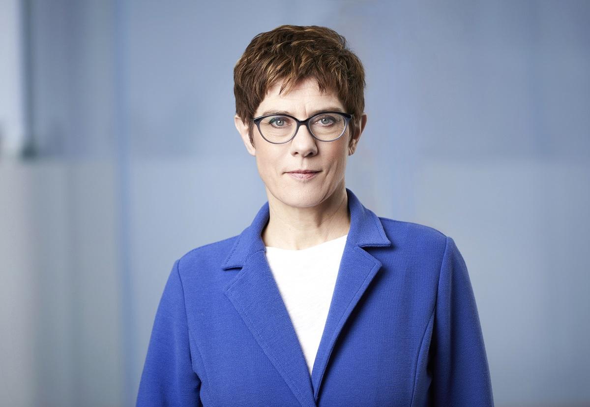 CDU / Laurence Chaperon -CDU-Vorsitzende Annegret Kramp-Karrenbauer