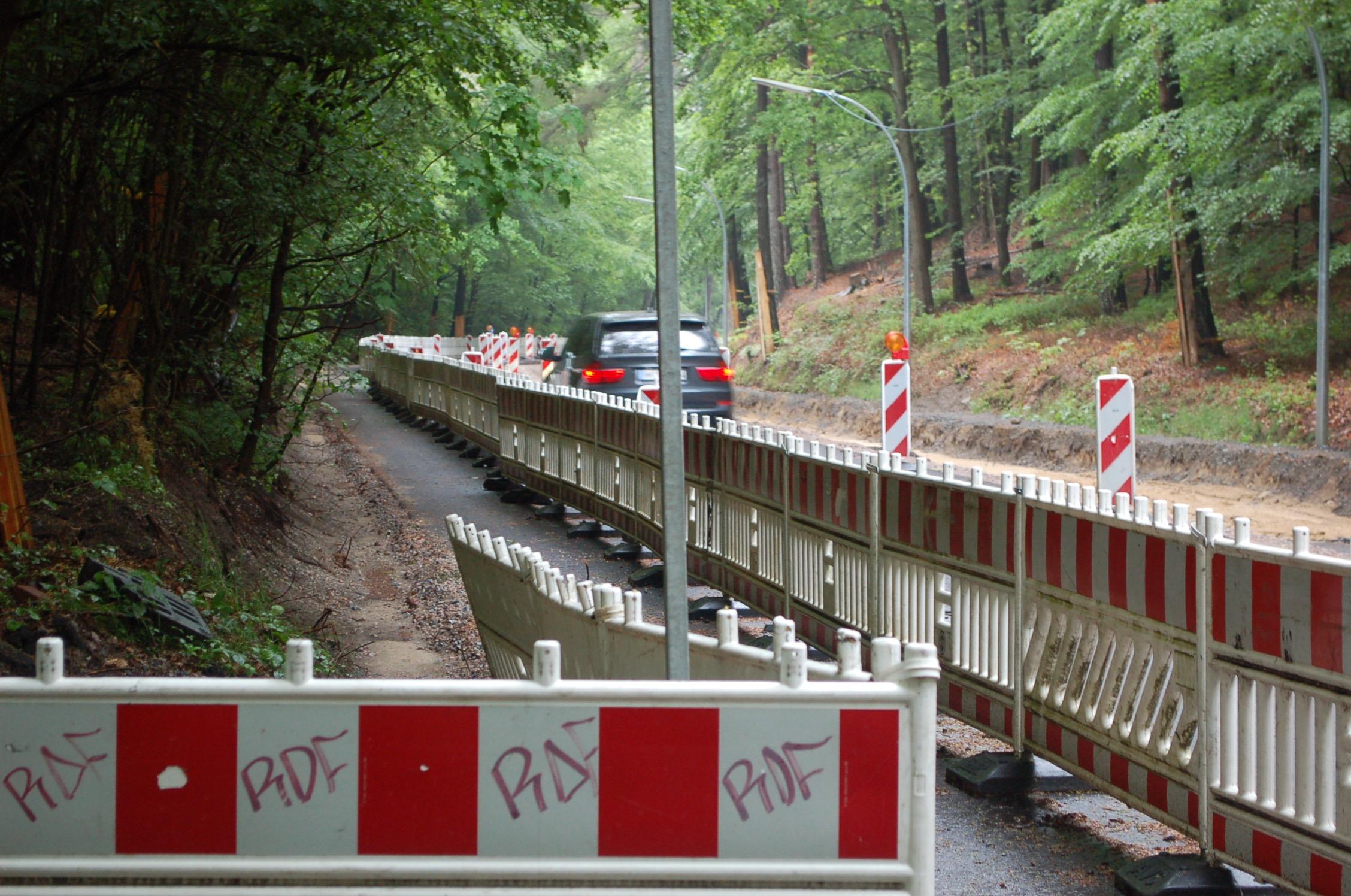 mk -Die Baumaßnahmen am Ehestorfer Heuweg stehen seit Monaten Im Fokus.