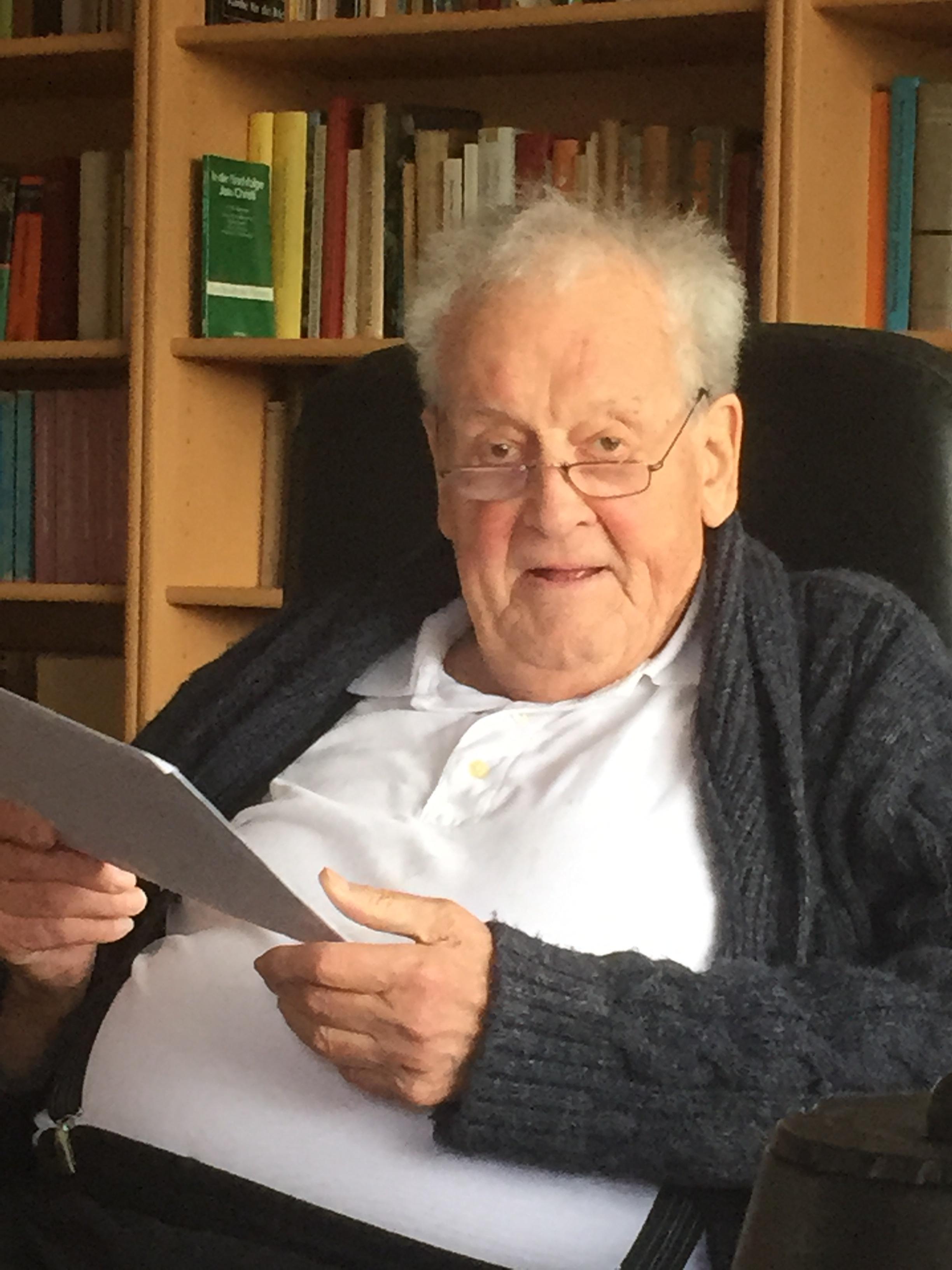 Po -Ein Gottesmann mit Leib und Seele: Pfarrer Heribert Brodmann.