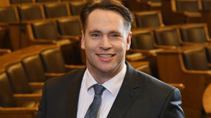 SPD -Der SPD-Abgeordnete Michael Weinreich