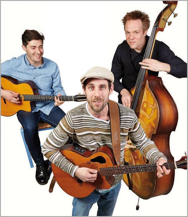 priv. -Guillaume Charles (Gesang & Gitarre) Benjamin Boitrelle (Gitarre & Gesang) Henning Hasselbach (Kontrabass) Manfred Häßner (Flöte) und Yarden Lapid (Akkordeon)