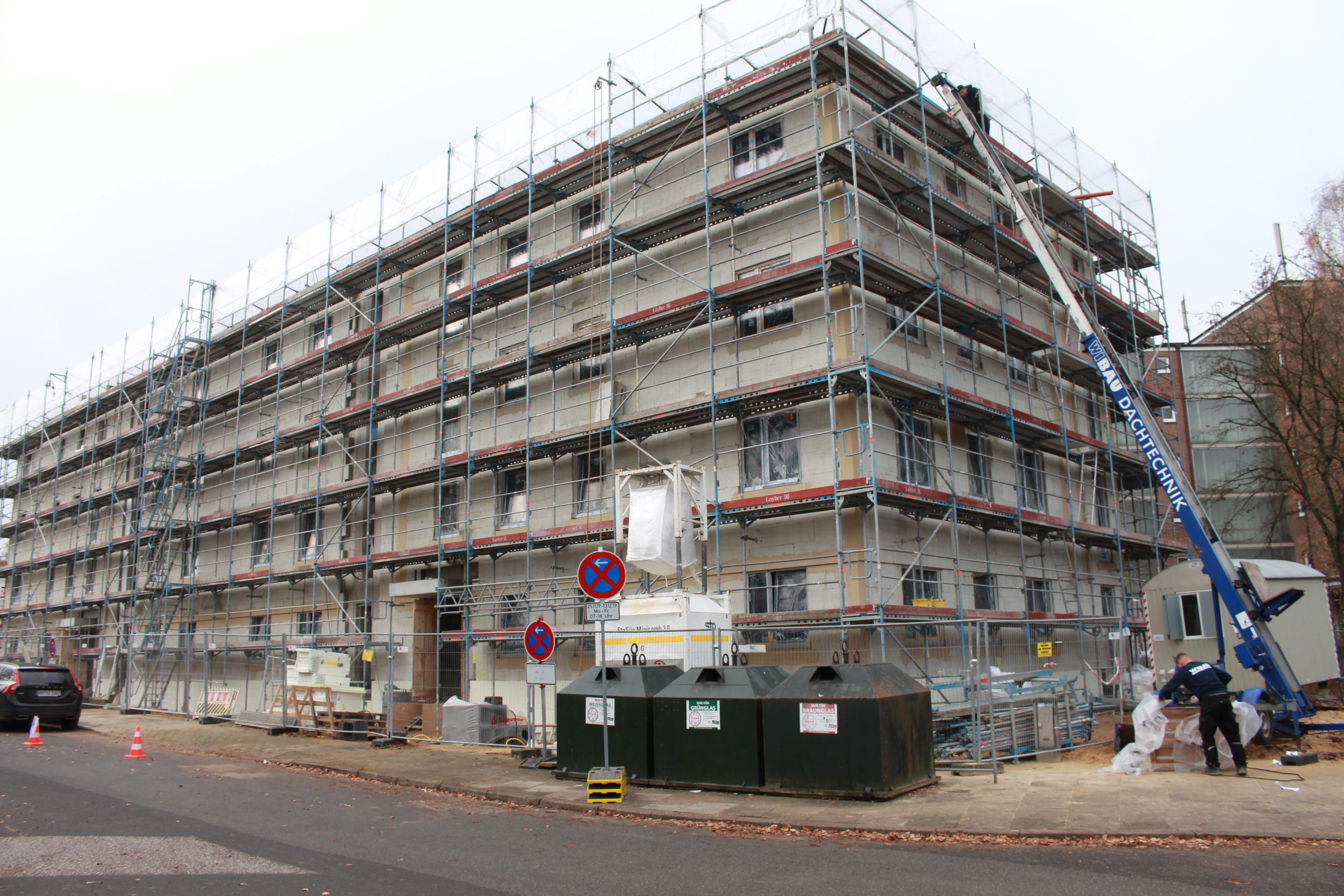 pm -Der Neubau am Haanbalken wird im 3. Quartal 2020 fertiggestellt