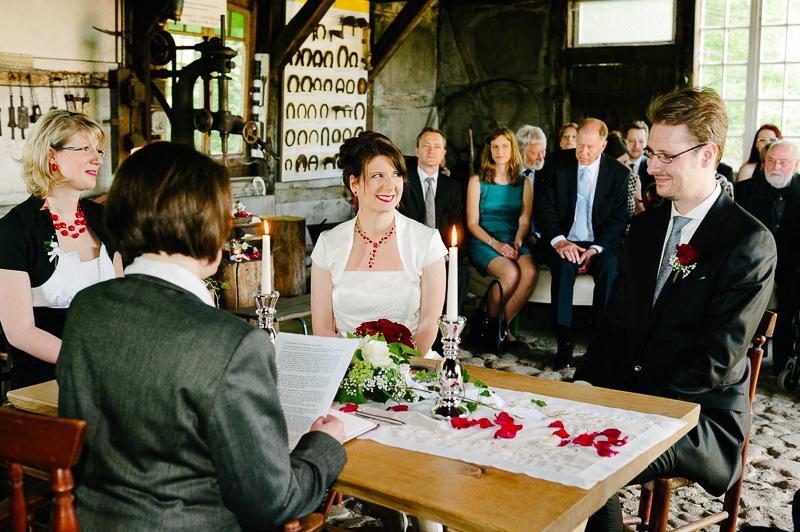 FLMK -Nicht alltäglich: Hochzeit in der Dorfschmiede am Kiekeberg