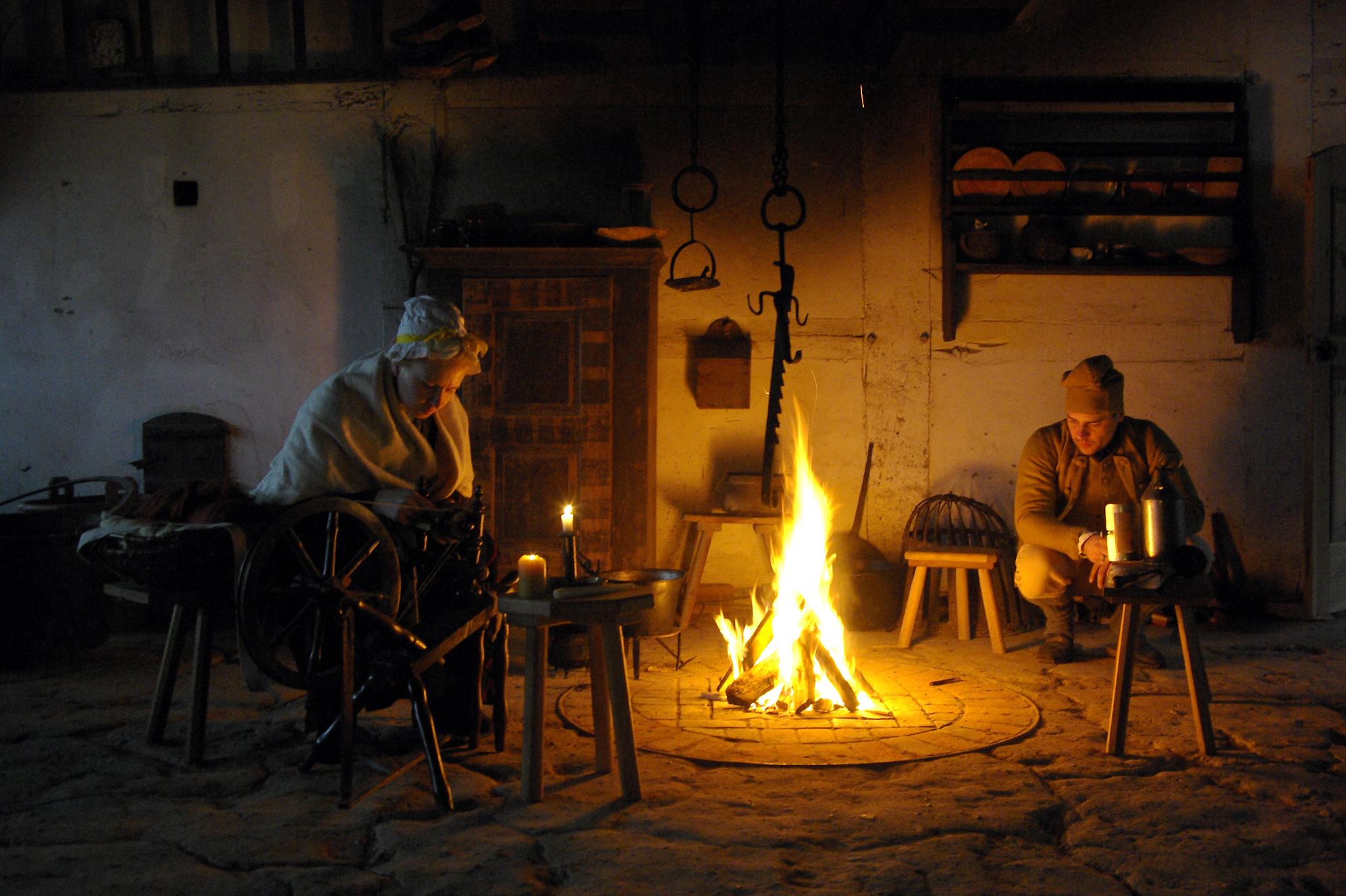 FLMK -Kochen am offenen Feuer. Wer kann sich das heute noch vorstellen