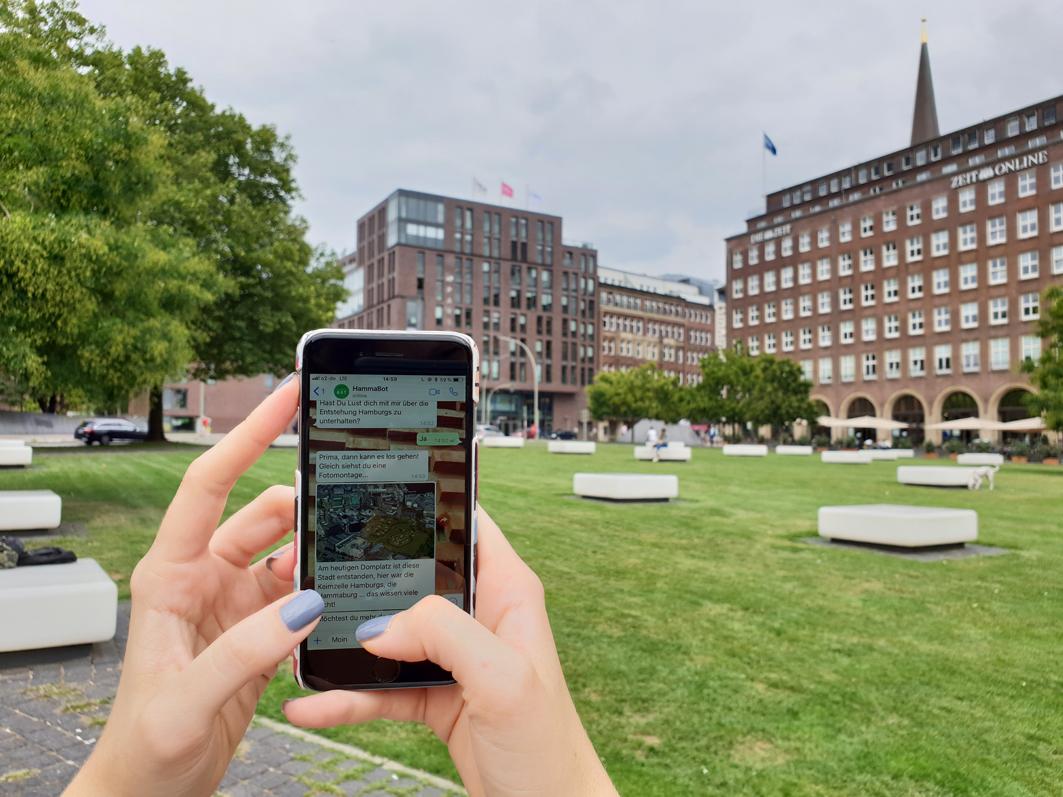 amh -Auf digitaler Entdeckungstour durch Hamburg und seine Geschichte