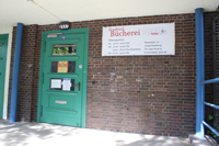 Die Stadtteilbücherei Veddel kann bis Mai 2021 erstmal in ihren bisherigen Räumlichkeiten bleiben Foto: au