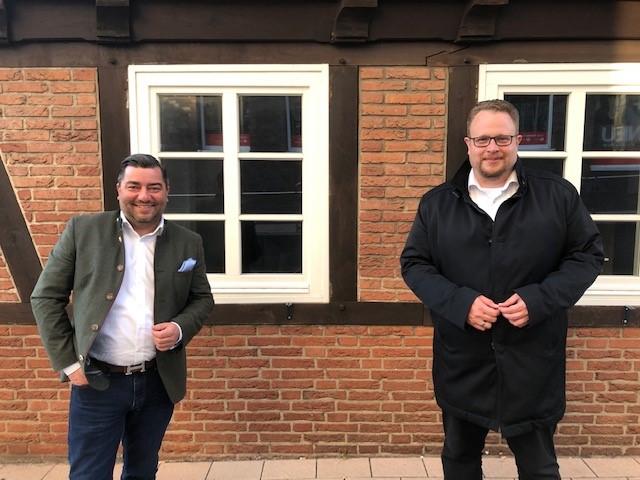 Uwe Schneider (li.) und Dennis Gladiator: Die CDU hat die richtigen Antworten Foto: CDU