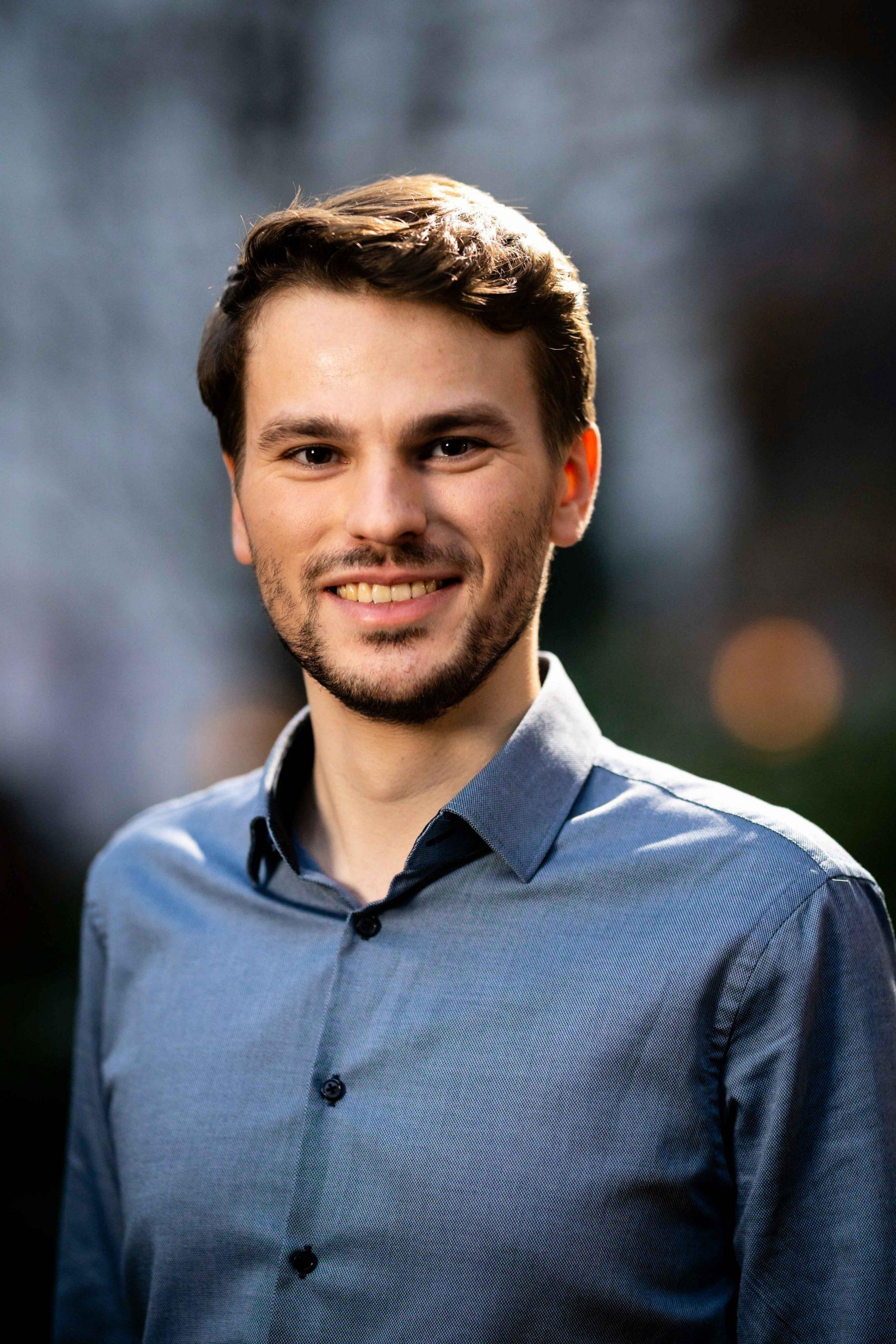 Gerrit Fuß verkehrspolitischer Sprecher und Wahlkreisabgeordneter für die Veddel in der Hamburgischen Bürgerschaft Foto: ein