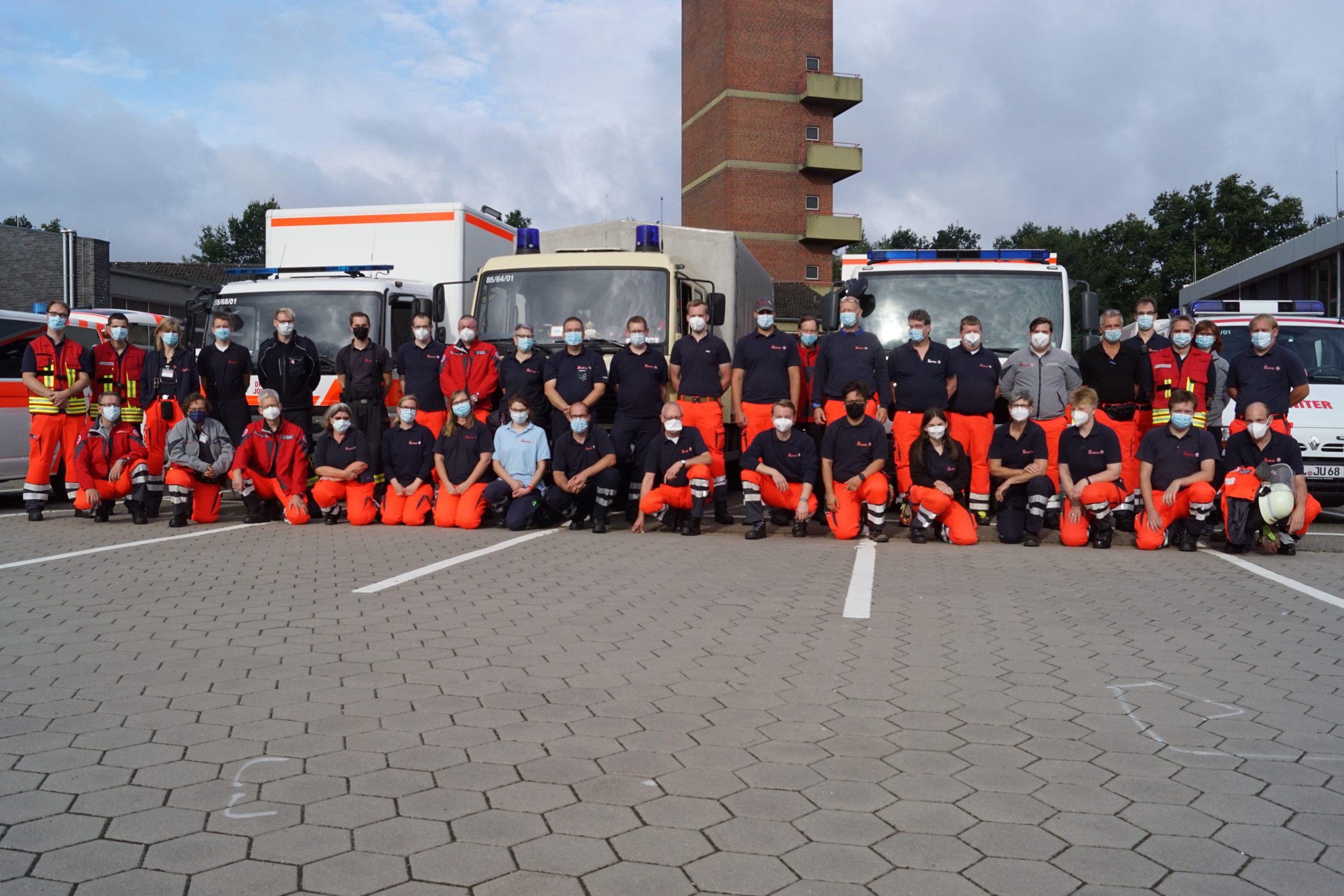 Foto: Johanniter -46 ehrenamtliche Johanniter waren im Flutgebiet in Bad Neuenahr-Ahrweiler unterstützend tätig